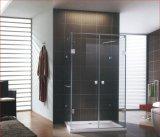 Alliage de zinc de bonne qualité en verre Salle de bains en acier inoxydable