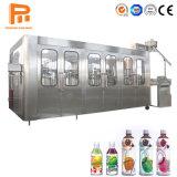 Automatic mascota pequeña botella de jugo caliente / Soft CSD bebida carbonatada / Planta de Llenado de embotellado de bebidas Máquina de embalaje
