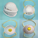 3 máscara de polvo industrial de la capa Ffp2 con la taza redonda