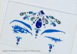Sticker van het Oog van het Bergkristal van de Make-up van de Partij van de Sticker van de Schaduw van de Tatoegering van het Lichaam van juwelen de Zelfklevende (S017)