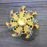 普及したダイヤモンド様式の落着きのなさの紡績工手指の紡績工