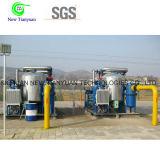 3000nm3/H Eenheid van de Dehydratie van het Aardgas van de Zeef van de capaciteit 4A de Moleculaire