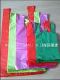 HDPE bunte haltbare Shirt-Plastikbeutel für das Einkaufen TF-17072201-5