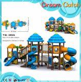 卸し売り商業子供の屋外の木の運動場のゲームのスライド
