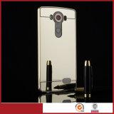 Geval van de Telefoon van de Spiegel van de Bumper van het Aluminium van het Metaal van de luxe het Mobiele voor LG