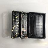 Устранимой напечатанная таможней коробка отсутствующих пластичных суш взятия упаковывая