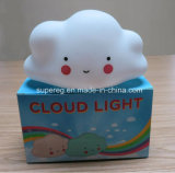 침실은 미소 마스크 종묘장 구름 램프를 꾸민다