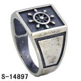 Anello d'argento di Steling del commercio all'ingrosso 925 della fabbrica per gli uomini
