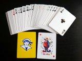 2pk Plastic Case Packing Paper Cartões de jogo / Poker Cards