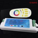 2.4G 4 Shell van de Streek het Lange Plastic Verre Controlemechanisme RGBW van de Aanraking