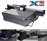 Impresora ULTRAVIOLETA llana industrial de la base plana de la anchura G5 Rioch Printerhead de Xuli los 2.6m