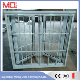 China Ventana de vidrio de PVC y UPVC con Flyscreen
