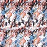 Impressão colorida para as mulheres mais bonitas roupas Têxteis (KQC-0037)