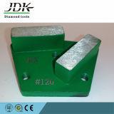 2 dischi di molatura concreti dei pattini del pavimento del PRO trapezio della presa di Seg