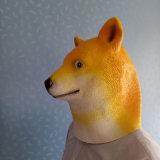 Máscara para el partido, máscara del perro de Hachiko del látex de Víspera de Todos los Santos