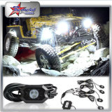 Mini couleur simple LED Rock Light pour Off Road 4/6/8/12 Pods Kit