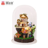 Hot DIY Doll House Story Toys pour Noël 2017