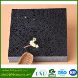 Bancada artificial da cozinha da pedra de quartzo da galáxia preta