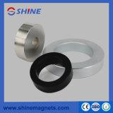 D40xd30X5mm het Zink van de Magneet van de Ring van het Neodymium dat voor de Bestuurder van de Spreker met Vernikkeld met een laag wordt bedekt