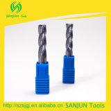 Tipos herramientas que muelen ásperas de Endmill del molino de extremo/del desbaste para la máquina del torno