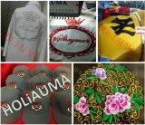 Precio principal de la máquina del bordado del casquillo 3D de la camiseta de Holiauma de la mejor calidad de China solo barato con la máquina del bordado del ordenador del regulador de sistema de Dahao