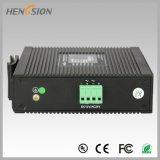 4 1 do SFP da rede Ethernet interruptor industrial portuário elétrico e