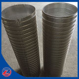 304stainless Steel Slotted Wedge V Wire Screen Tubes