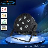 Luz lisa da PARIDADE do diodo emissor de luz de Guangzhou RGB 18PCS, PARIDADE lisa do diodo emissor de luz da PARIDADE 18PCS 3W do diodo emissor de luz do baixo preço