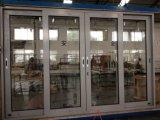 la plus défunte porte d'alliage d'aluminium en verre de configuration de prix usine de modèle