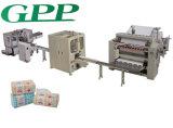 Linha de produção automática de alta velocidade para máquina de tecido facial