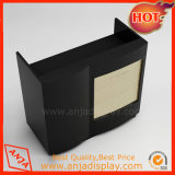 Caja de madera soporte contador