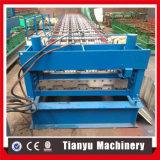 Formazione galvanizzata del rullo del tetto della piattaforma di pavimento d'acciaio fatta a macchina in Tianyu