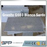 Granit de pierre grise poli pour dalle / carrelage / escalier / comptoir / dessus de vanité