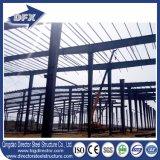 Magazzino prefabbricato dell'acciaio per costruzioni edili di disegno leggero della costruzione