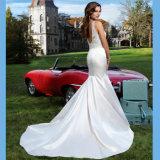 Сатинировка 2016 Китая ровная высоки Flared платье венчания Mermaid юбки