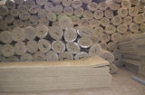 Felsen-Wolle-Isolierschicht mit Maschendraht auf einer Seite