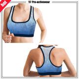 Kundenspezifische Frauen-Eignung-reizvolle Yoga-Büstenhalter-Frauen-Oberseite