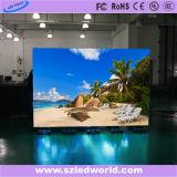 P2.5, P3, P4, P5, P6, P10 parede ao ar livre/interna do RGB do diodo emissor de luz de indicador da tela do painel do vídeo