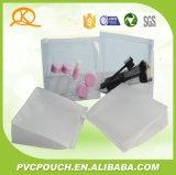 Promotion EVA en PVC souple en plastique à fermeture éclair sac pochette d'emballage cosmétique