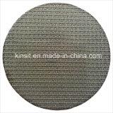 5 Filter van het Roestvrij staal van het micron Multi-Layer Gesinterde