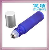 Aceite Esencial de vidrio Rollo en frasco de perfume de color azul