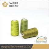 刺繍のための40/3本のOeko-Tex100 1クラス100%年のポリエステル縫う糸