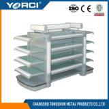 ガラス板が付いている中国の棚