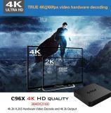 2017 le cadre Kodi16.0 d'Andriod 5.1 TV de faisceau de quarte du vidéo le plus puissant C96X S905X 1g 8g