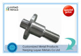 Partie d'usinage CNC avec l'acier inoxydable pour les machines