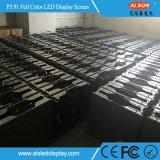 P3.91 Affichage vidéo ultra léger Super Light LED pour location intérieure