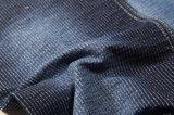 Ткань джинсовой ткани нашивки Spandex хлопка для кальсон способа