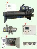 Refrigeratore raffreddato ad acqua della vite raffreddato aria della pompa termica della vite 500kw