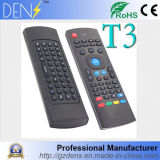 клавиатура радиотелеграфа мыши воздуха T3 дистанционного управления USB 2.4G