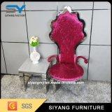 Poltrona francesa do hotel da cadeira do lazer da cadeira do trono da mobília do país